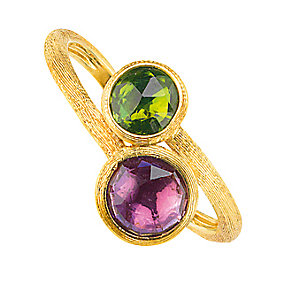 Marco Bicego 18ct yellow gold multi stone ring - Product number 9097503