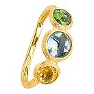 Marco Bicego 18ct yellow gold multi stone ring - Product number 9097767