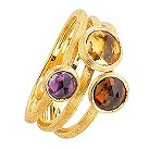 Marco Bicego 18ct yellow gold multi stone ring - Product number 9097899