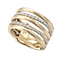Marco Bicego 18ct yellow gold diamond ring - Product number 9099050
