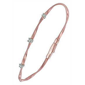 Marco Bicego 18ct rose gold diamond bangle - Product number 9099468