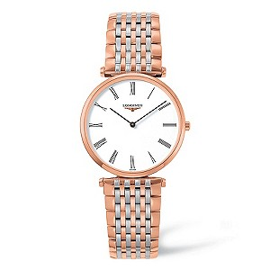 Longines men's rose gold-plated watch - Product number 9099905