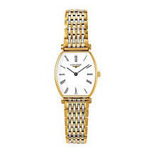 Longines gold-plated & stainless steel bracelet watch - Product number 9099913