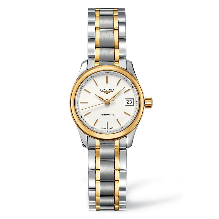 Longines ladies' two colour bracelet watch - Product number 9099956