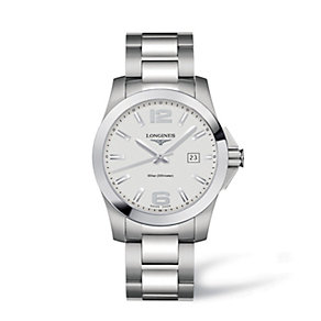 Longines men's stainless steel bracelet watch - Product number 9100008