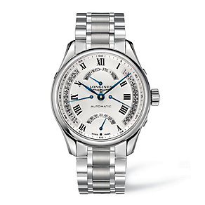 Longines men's automatic stainless steel bracelet watch - Product number 9100059
