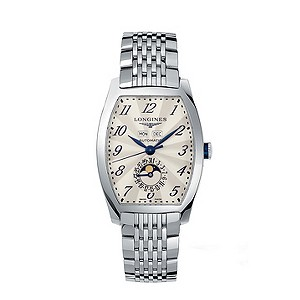 Longines men's stainless steel automatic bracelet watch - Product number 9100091