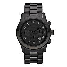 Michael Kors Men's Black Ion Plated Bracelet Watch - Product number 9100725