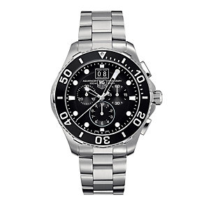 TAG Heuer Aquaracer men's chronograph stainless watch - Product number 9102965