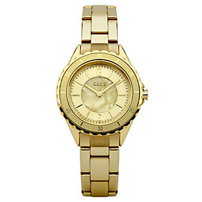 Oasis Ladies Midi Sports Gold Bracelet Watch - Product number 9110828