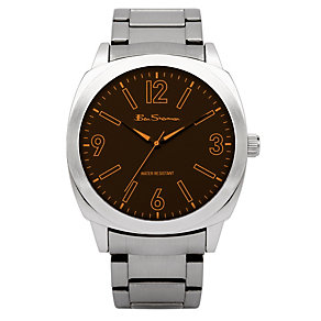 Ben Sherman Men's Brown Strap Watch - Product number 9111093