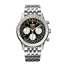 Breitling Navitimer 01 men's stainless steel bracelet watch - Product number 9112820