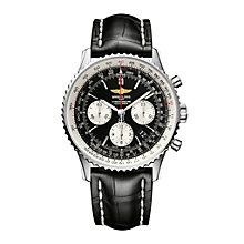 Breitling Navitimer 01 43mm Men's Black Strap Watch - Product number 9112847
