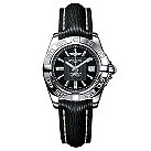 Breitling Galactic 32 ladies' black leather strap watch - Product number 9113304