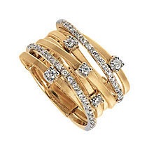 Marco Bicego 18ct yellow gold diamond ring - Product number 9113592
