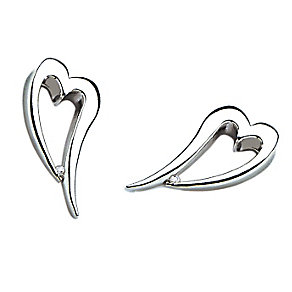 Hot Diamonds Sterling Silver Diamond Earrings - Product number 9113975
