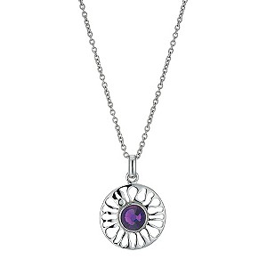 Hot Diamonds Purple Sundial Pendant - Product number 9114025