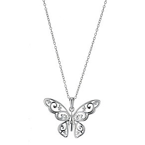 Hot Diamonds Laced Butterfly Pendant - Product number 9114041