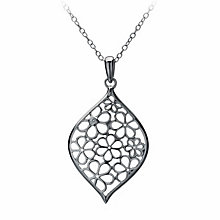 Hot Diamonds Silver Diamond Lantern Pendant - Product number 9114106