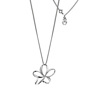Hot Diamonds Sterling Silver Plumeria Pendant - Product number 9114122