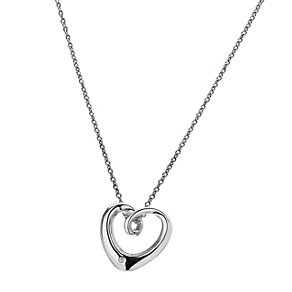 Hot Diamonds Sterling Silver Heart Necklace - Product number 9114173