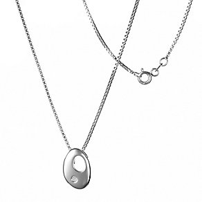 Hot Diamonds Sterling Silver Pebble Pendant - Product number 9114203