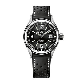 Ball men's black rubber strap automatic watch - Product number 9116850