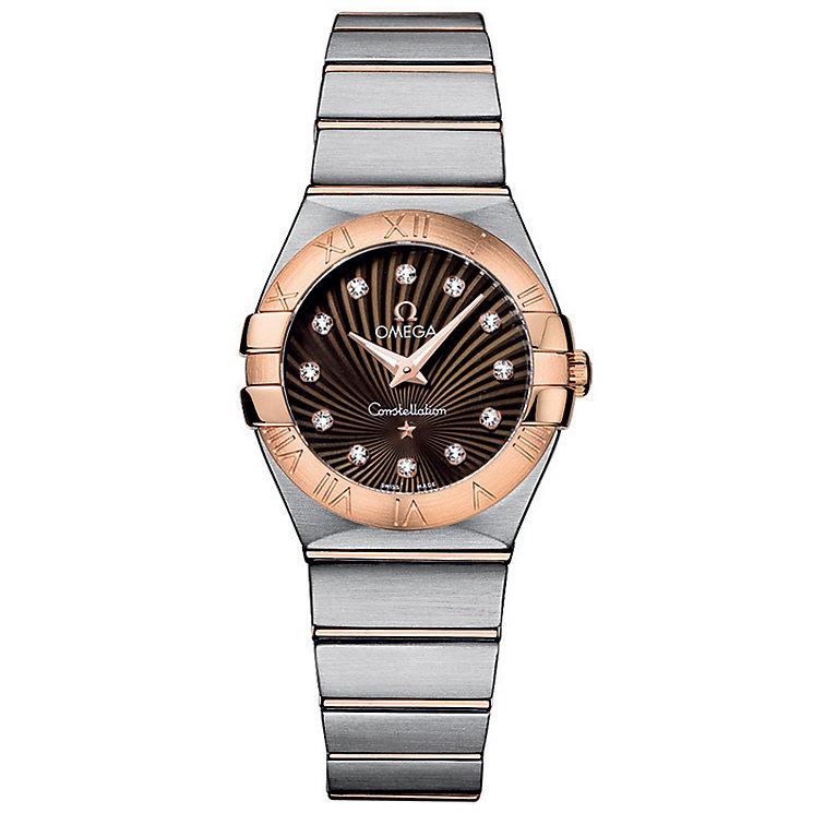 Omega Constellation Quartz 27mm Ladies' Bracelet Watch - Product number 9118055