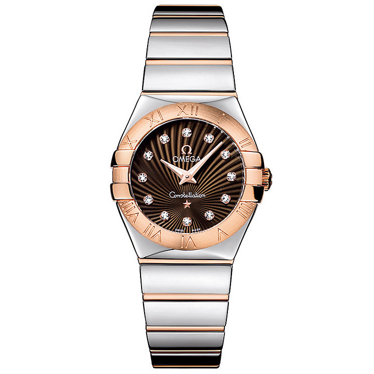 Omega Constellation Quartz 27mm Ladies' Bracelet Watch - Product number 9118136