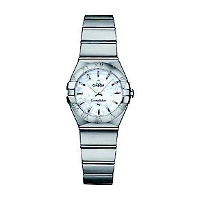 Omega Constellation 24mm ladies' steel bracelet watch - Product number 9118233