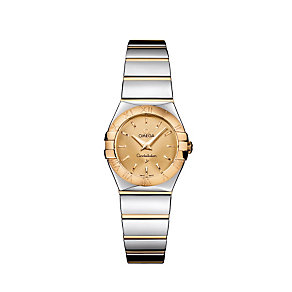 Omega Constellation ladies' two colour bracelet watch - Product number 9118268