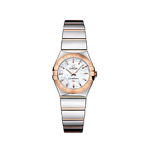 Omega Constellation ladies' two colour bracelet watch - Product number 9118292