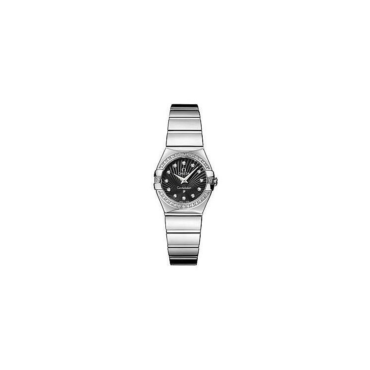 Omega Constellation Quartz ladies' bracelet watch - Product number 9118314