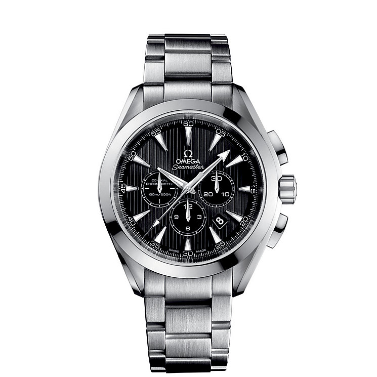 Omega Seamaster Aqua Terra men's bracelet watch - Product number 9118357