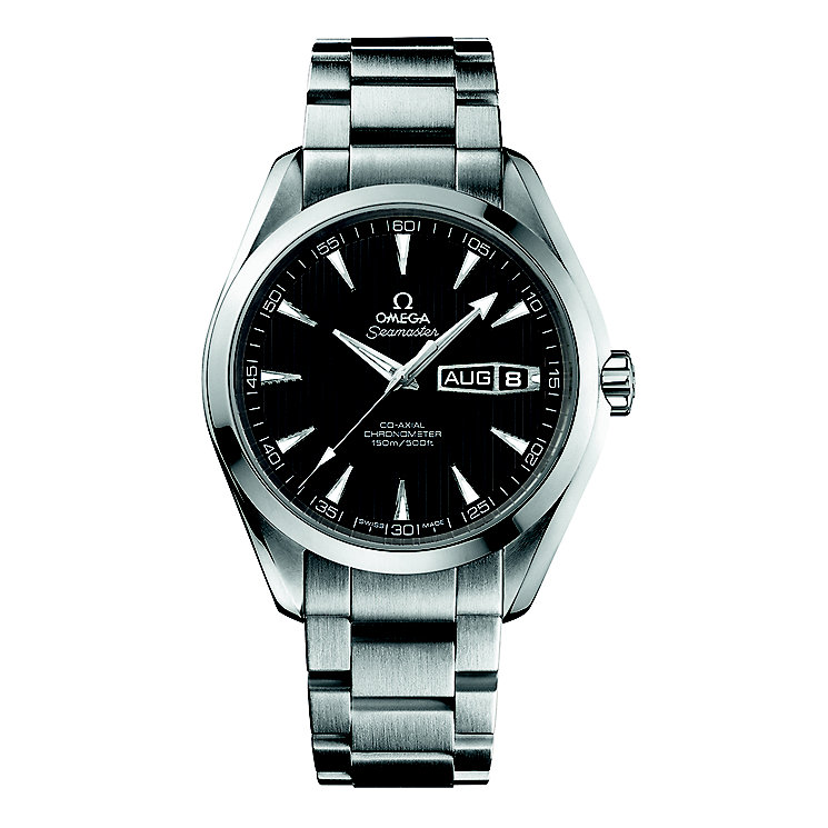 Omega Seamaster Aqua Terra men's bracelet watch - Product number 9118438