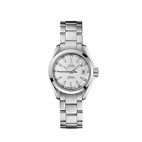Omega Seamaster ladies' stainless steel bracelet watch - Product number 9118594