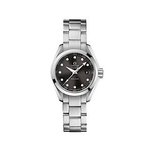 Omega Seamaster ladies' stainless steel bracelet watch - Product number 9118640