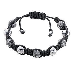 Eternal Men's Stainless Steel Grey Crystal Bracelet - Product number 9125051