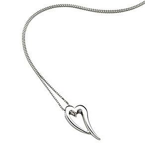 Hot Diamonds stretched heart pendant - Product number 9126228