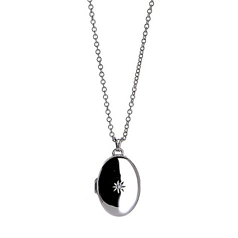 Hot Diamonds oval locket pendant