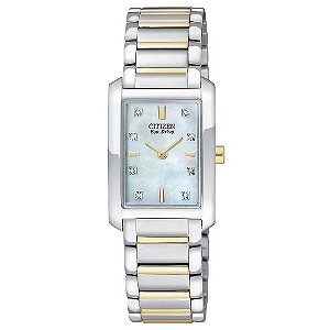 Citizen Ladies' Eco Drive Stainless Steel Bracelet Watch - Product number 9126546