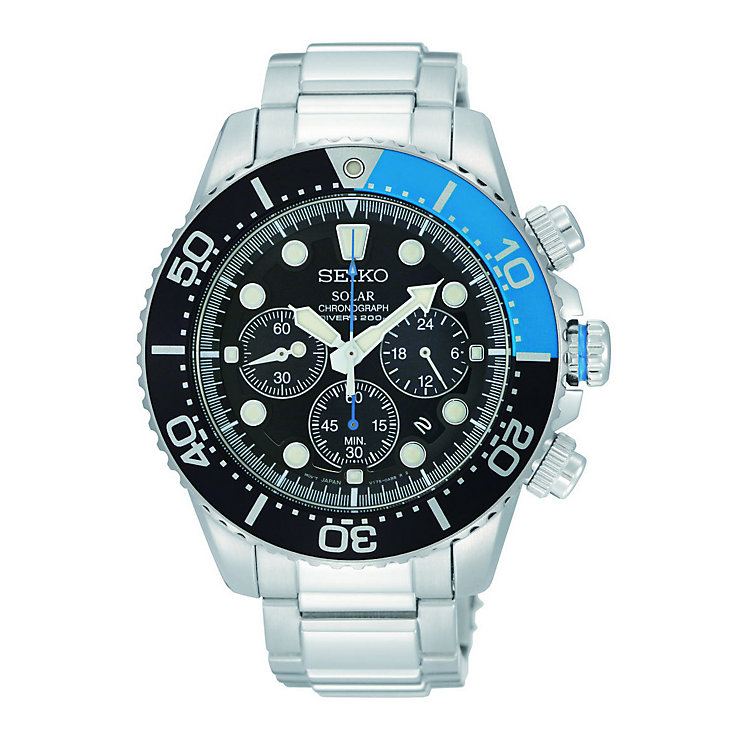 Seiko Men's Bracelet Chronograph Watch - Product number 9127895