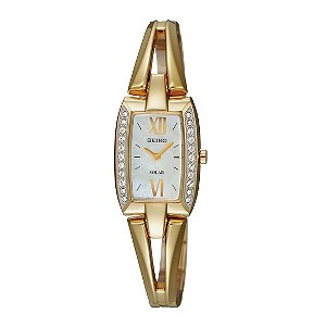 Seiko Ladies' Gold Plated Bracelet Watch - Product number 9127917