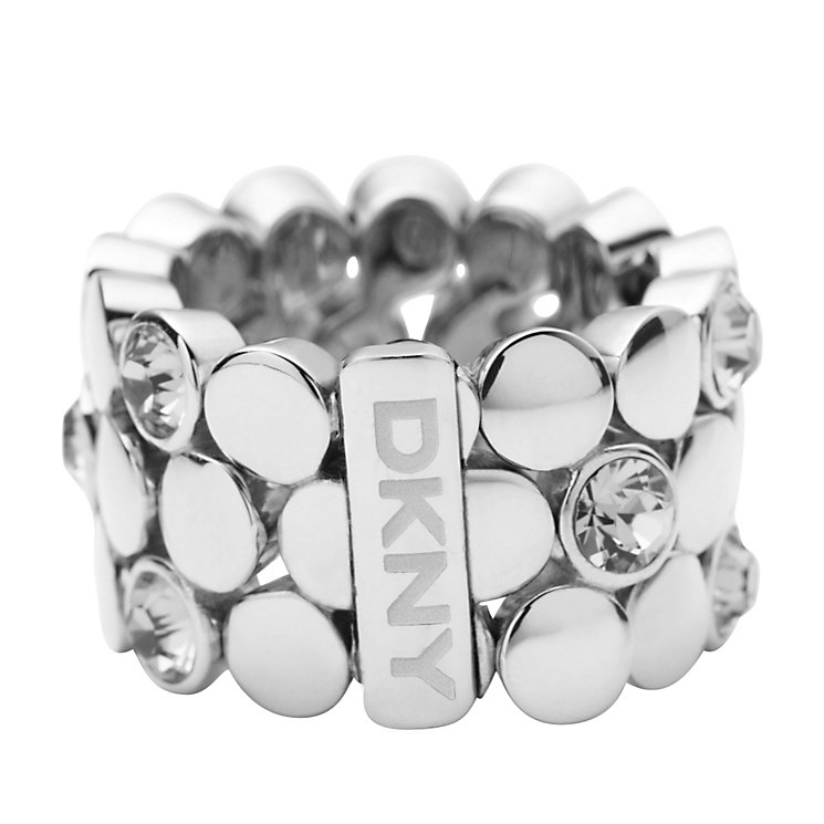 DKNY stone set expandable ring - size M1/2 - Product number 9149651