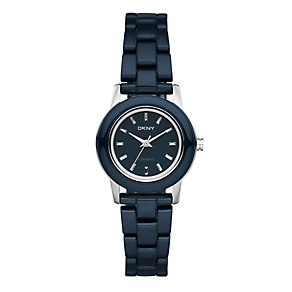 DKNY ladies' blue ceramic bracelet watch - Product number 9150277