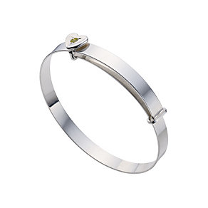 Silver Children's August Birthstone Bangle - Product number 9172262
