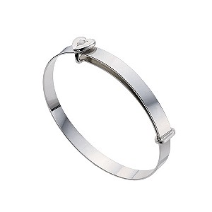 Silver Children's October Birthstone Bangle - Product number 9172289