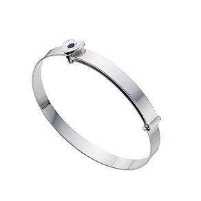 Silver Children's November Birthstone Bangle - Product number 9172297