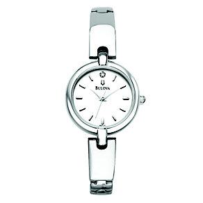 Bulova Ladies' Diamond Bangle Watch - Product number 9172416