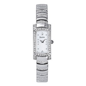 Bulova Ladies' Stainless Steel Bracelet Watch - Product number 9173242
